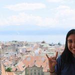 Sarah Chavez in Switzerland