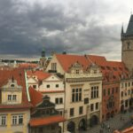 Panorama image of Prague, Czech Republic