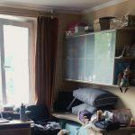 The window in Kylie's homestay room.